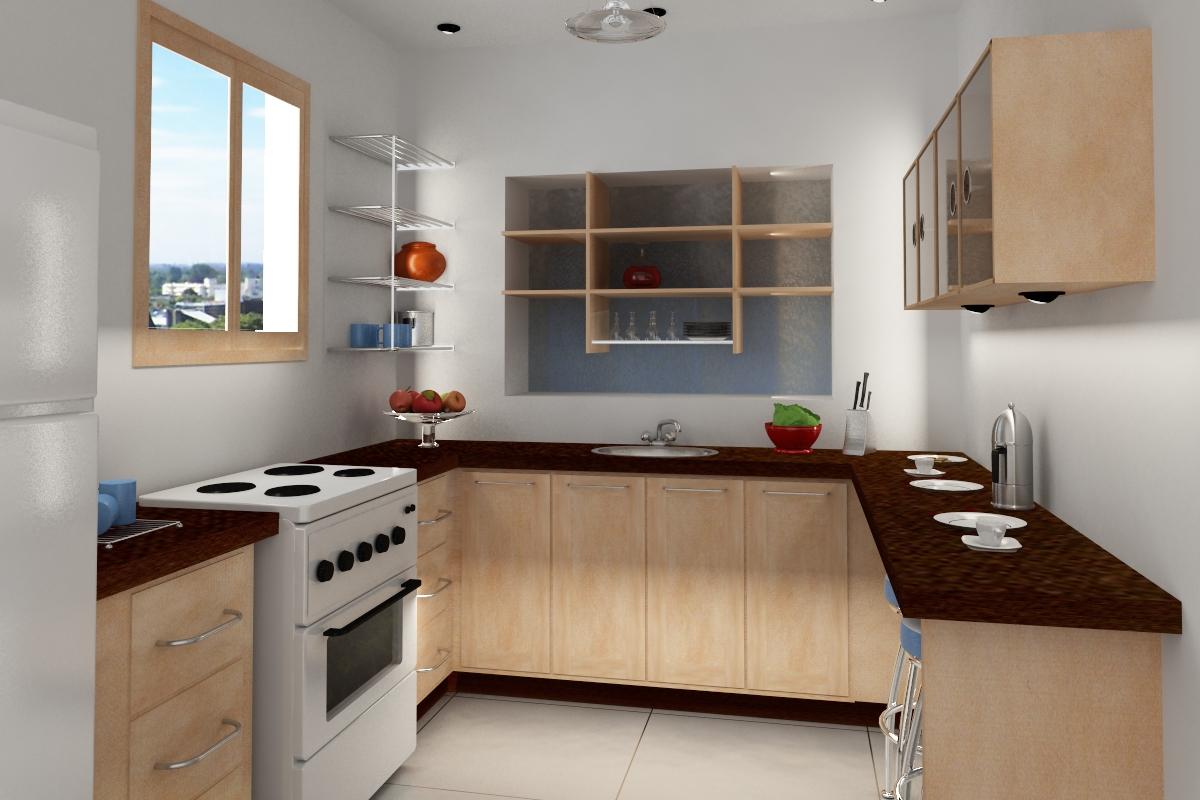 Wallpaper Inside Kitchen Cabinets - WallpaperSafari