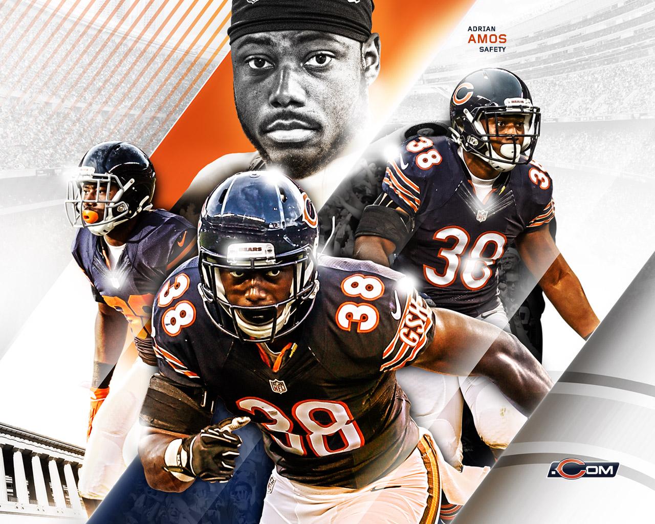47+ Chicago Bears Wallpapers 1280x1024 on WallpaperSafari