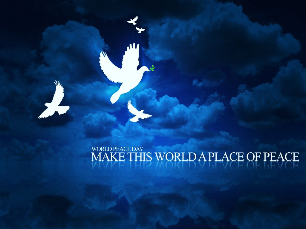 International Day of Peace Wallpaper 3   1024 X 768 stmednet 1024x768