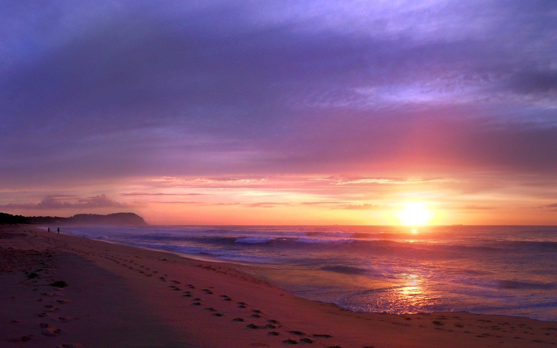 kootation com beach sunset backgrounds hd wallpaper picture html 1920x1200