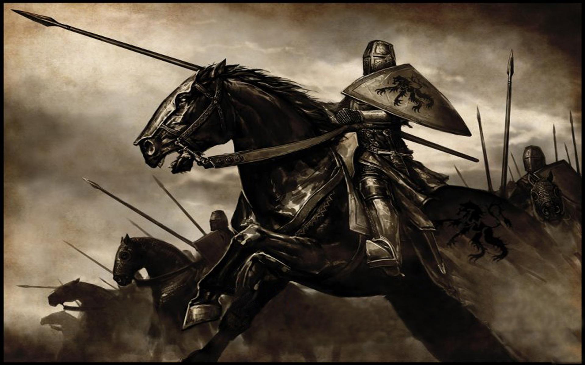 Knights Horses Wallpaper 1920x1200 Knights Horses MountampBlade 1920x1200