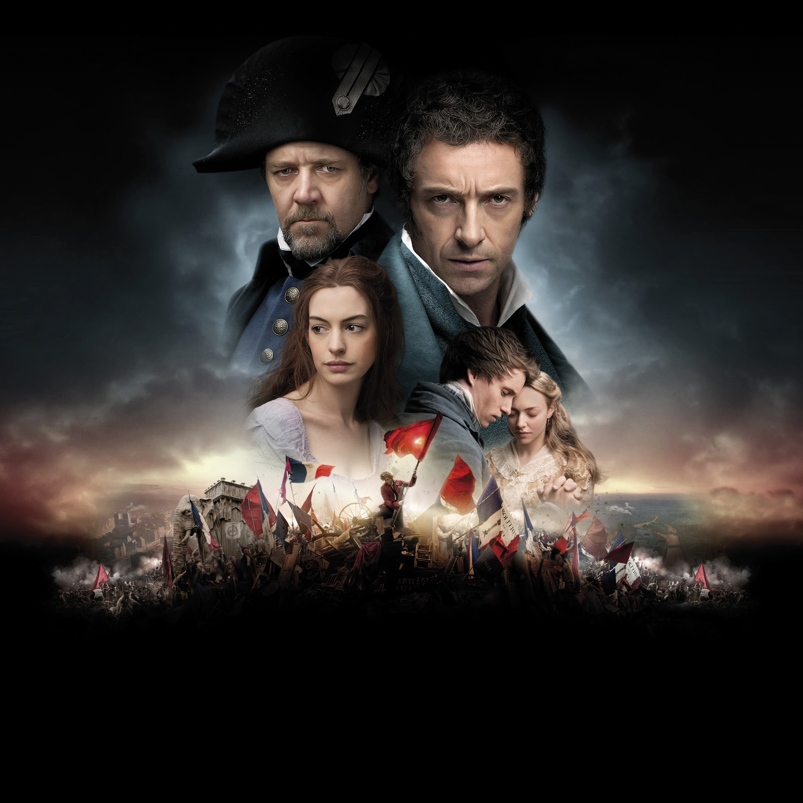 Les Miserables Poster Wallpaper Textless 1600x1600