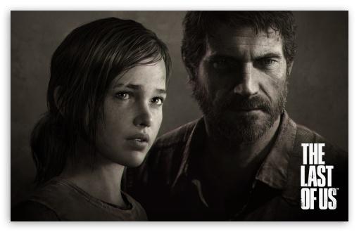 The Last of Us   Joel Ellie Portrait HD wallpaper for Standard 43 5 510x330