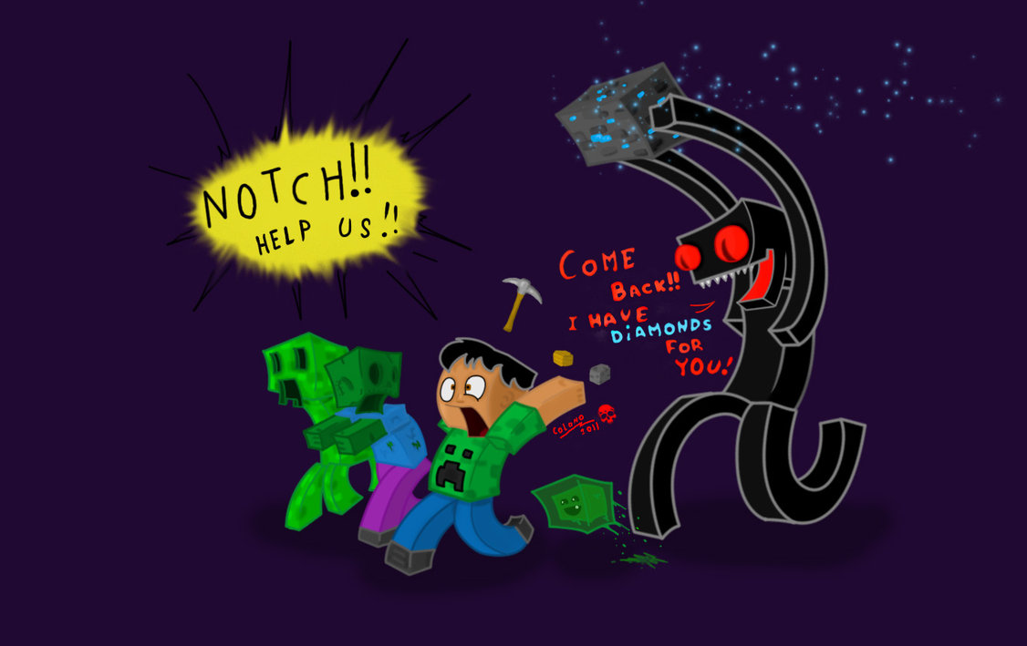 Free Download Enderman Loves You By Colono 1126x709 For