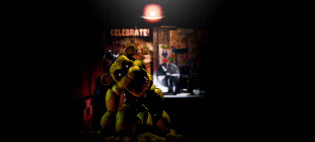 Five Nights At Freddys Wallpaper fixed size by N31K0 1333x600