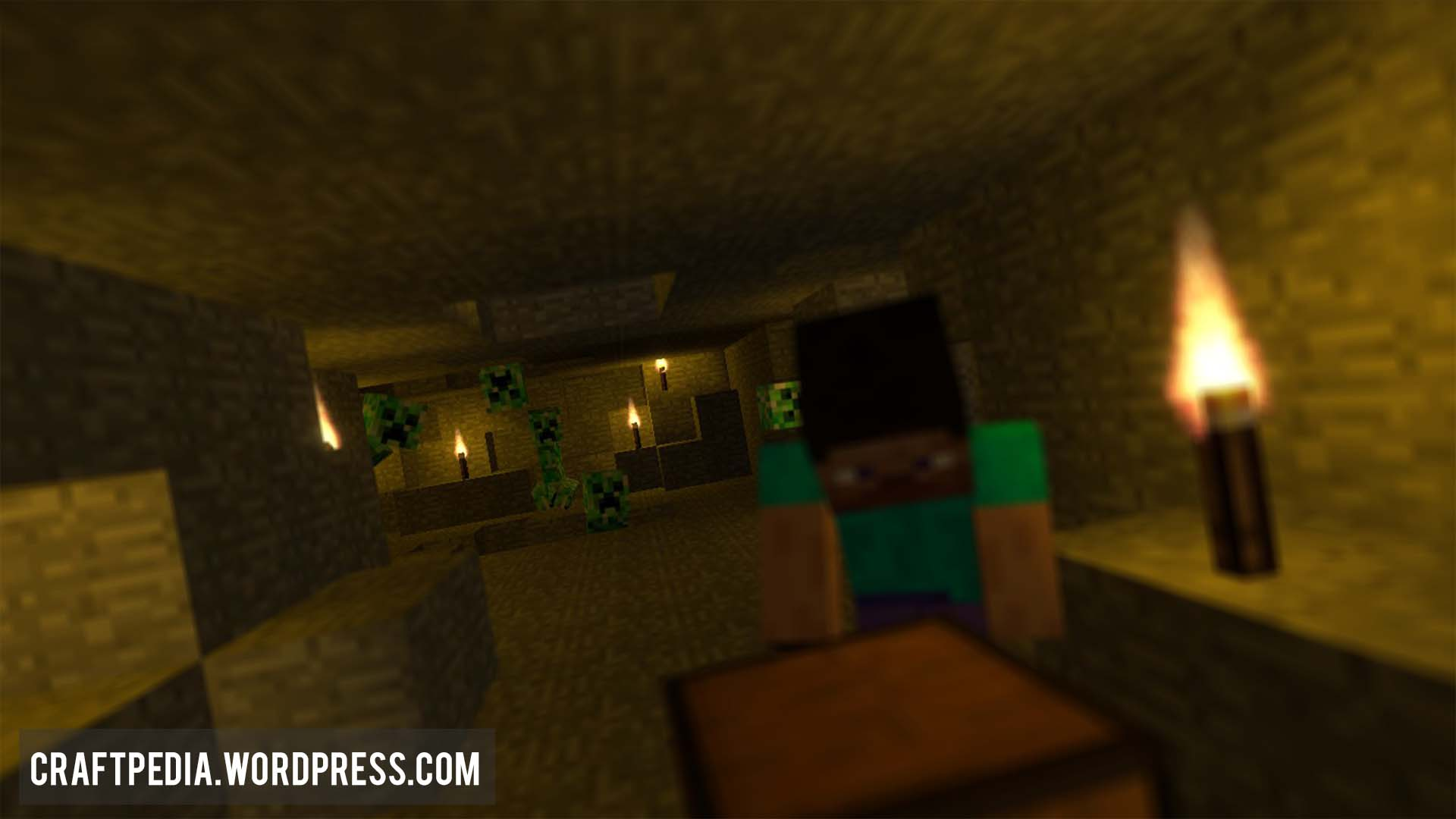 Creepers be Creepin HD Minecraft Animated Desktop Background Wallpaper 1920x1080