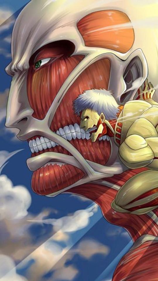 49 Attack On Titan Ios Wallpaper On Wallpapersafari