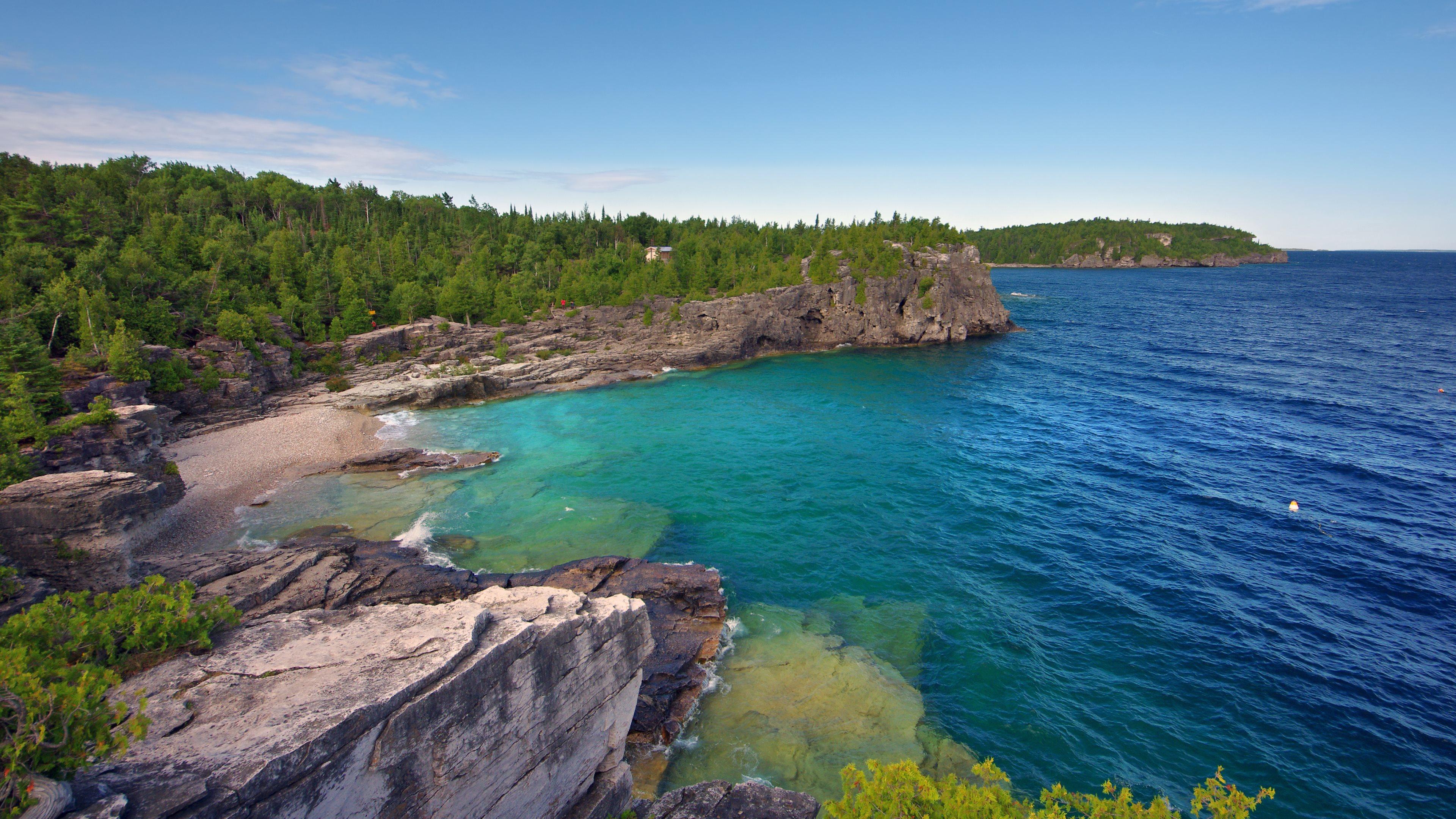 Earth   Coastline Seascape Wallpaper 3840x2160