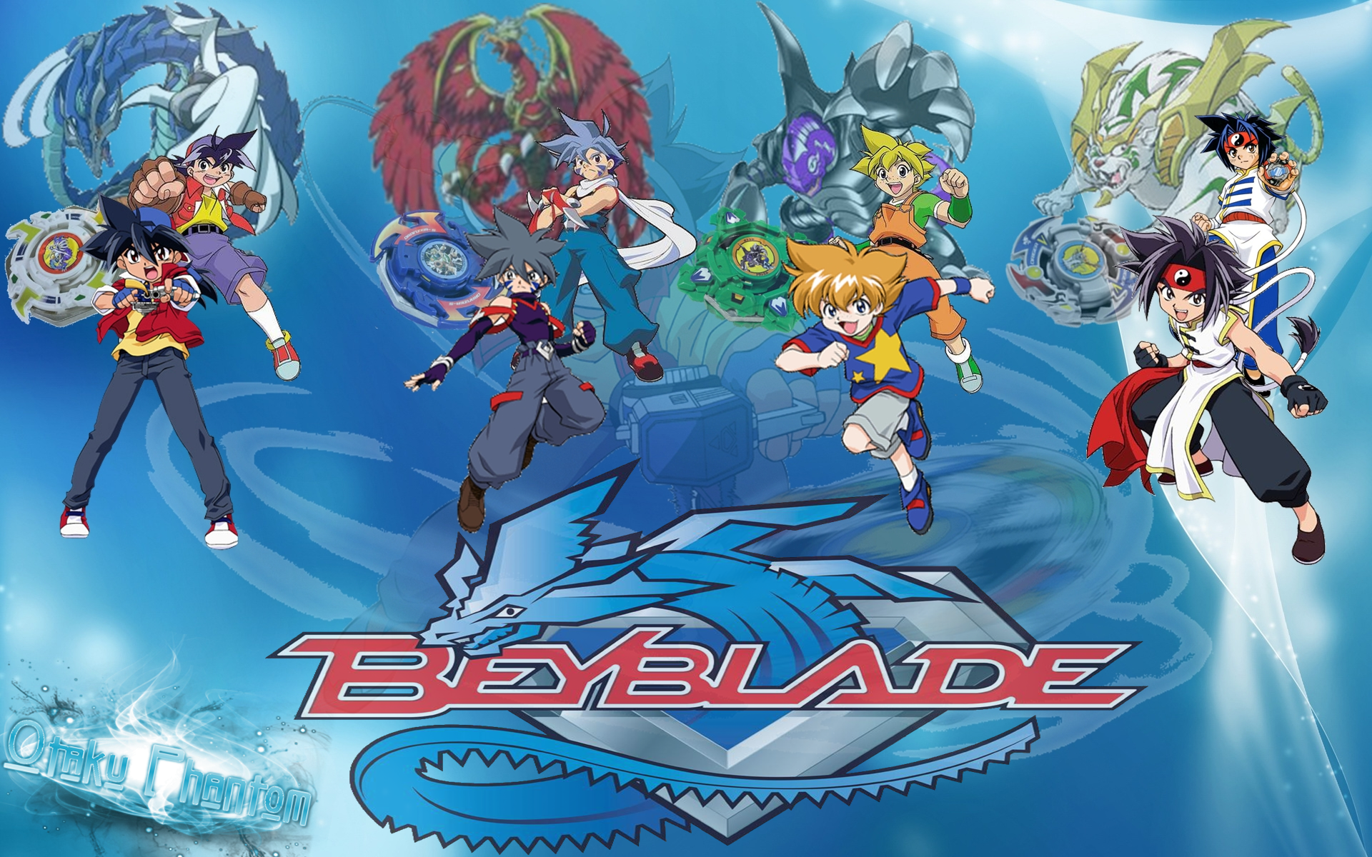 Beyblade wallpaper characters wallpapersafari for Deviantart wallpaper