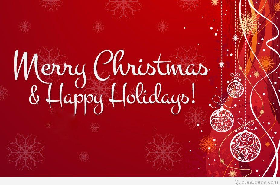 Merry Christmas Happy Holidays Wallpaper saying 926x613