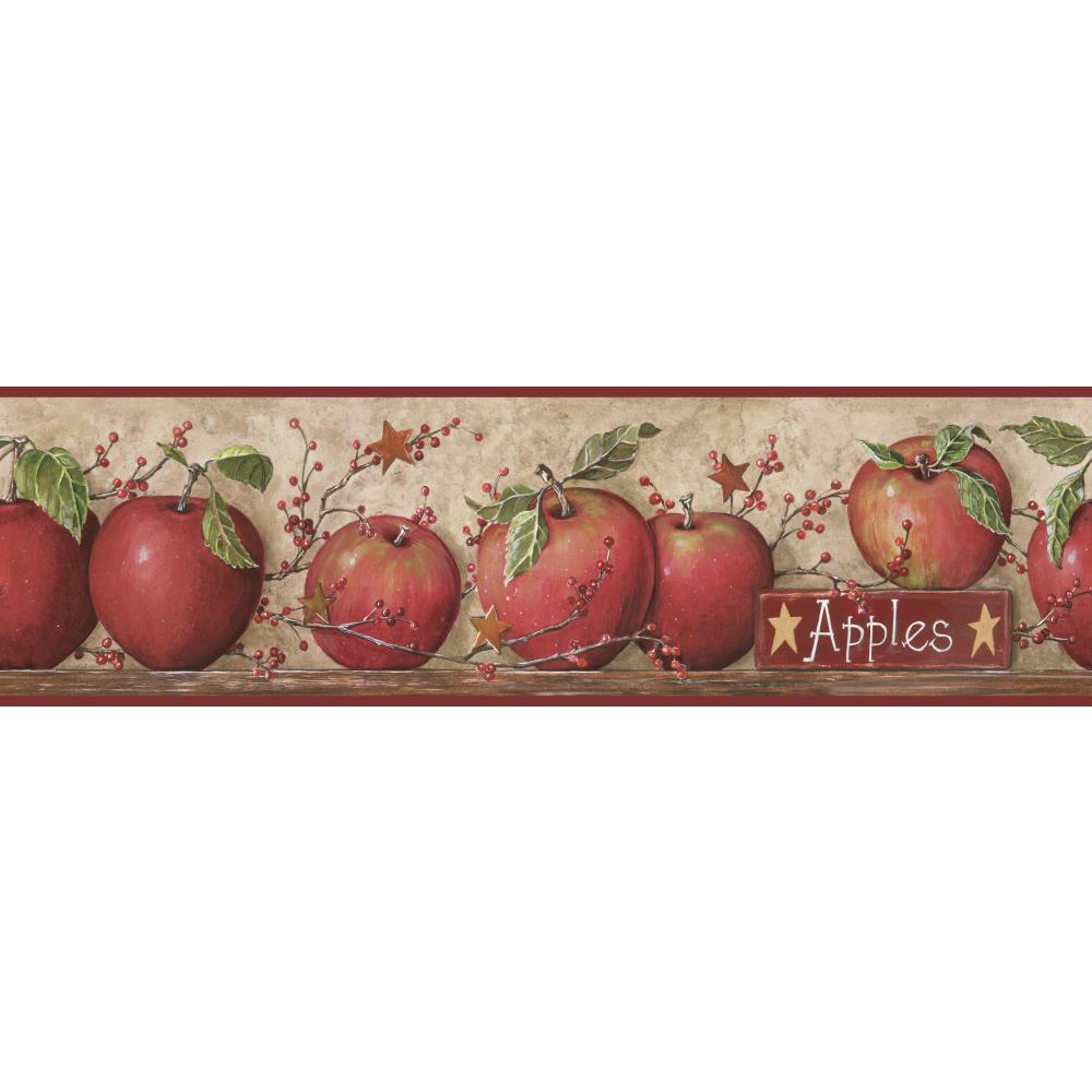 apple   Wallpaper Border Wallpaper inccom 1000x1000