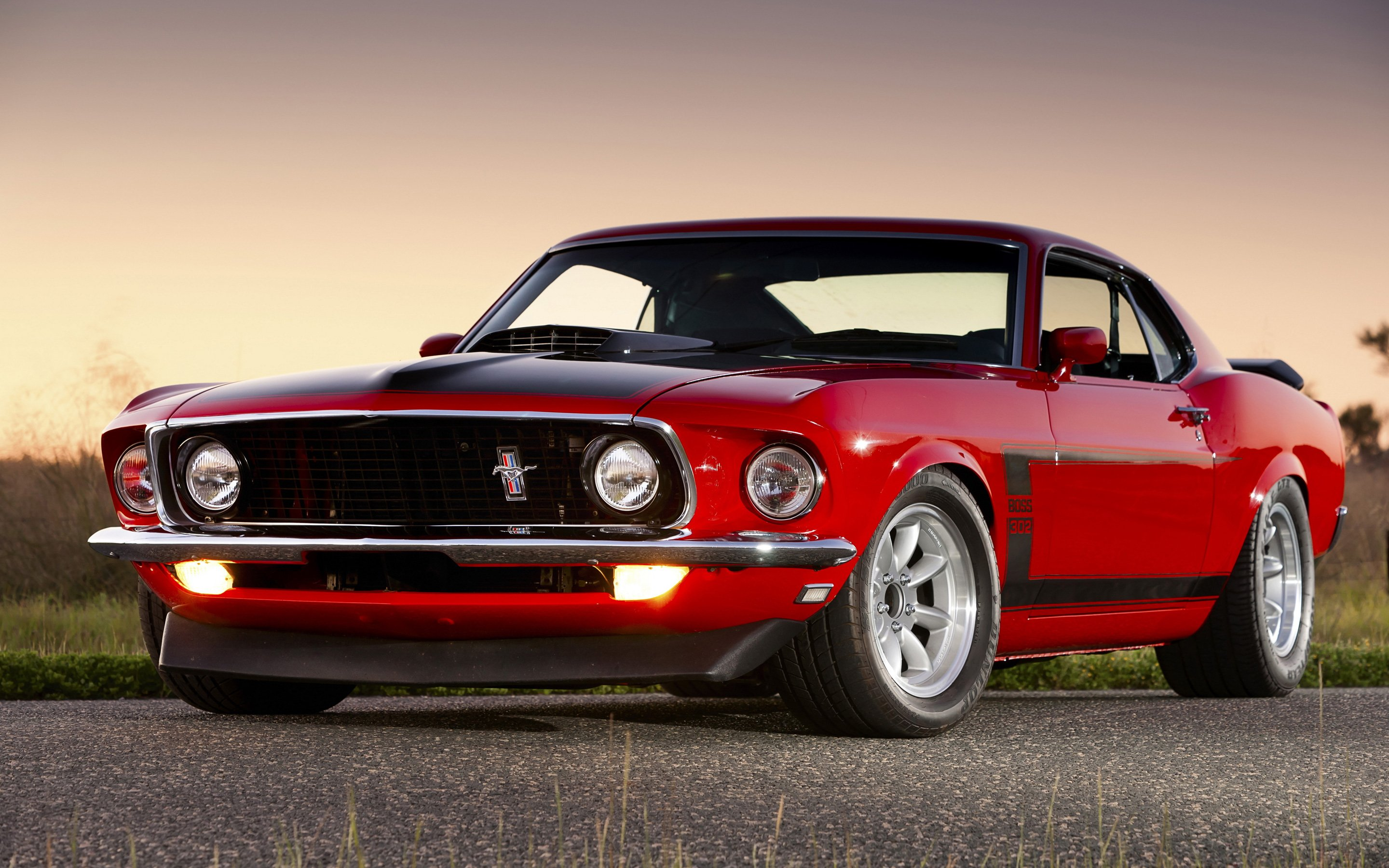 Ford Mustang Boss 302 HD Wallpaper 2880x1800