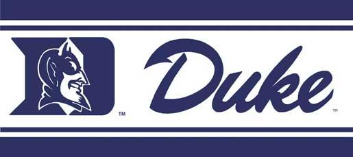 Duke Blue Devils 5 14 Tall Wallpaper Border 515x229