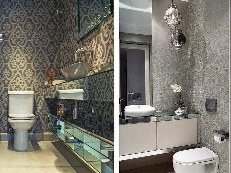 Wallpaper for Bathrooms Wonderful Waterproof Wallpaper For Bathrooms 800x600