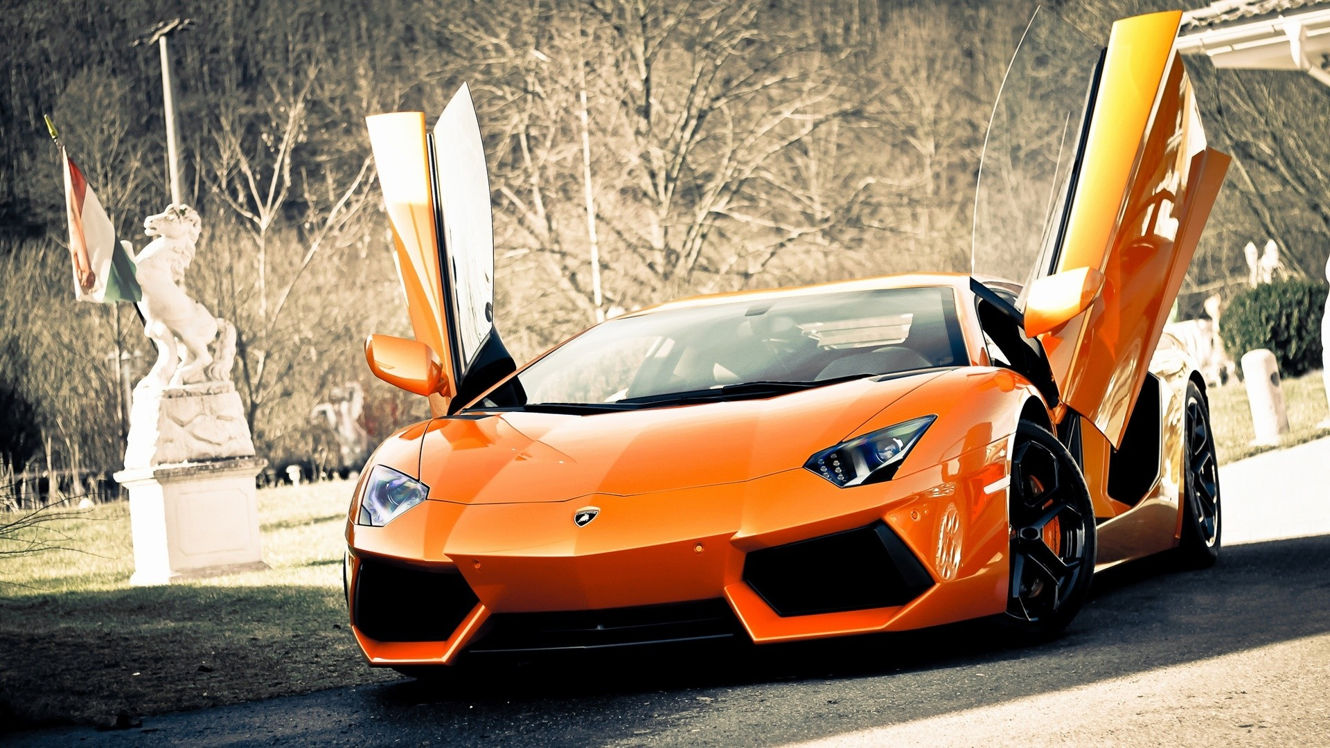 New Lamborghini Aventador Sports Cars HD Wallpaper New Lamborghini 1920x1080