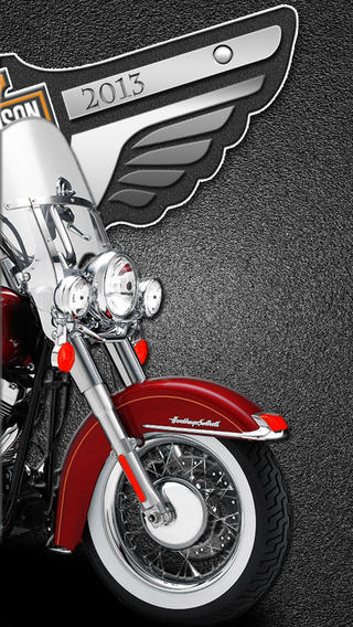 Harley Davidson Wallpapers   110 th year on the App Store on iTunes 320x568