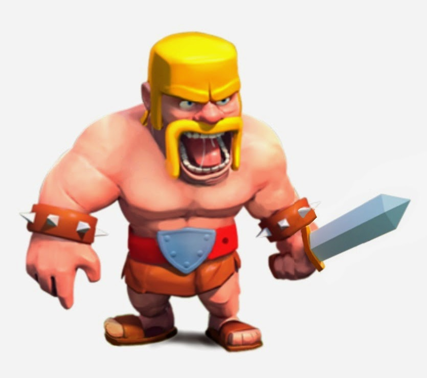 Clash of Clans Barbarian Clash of Clans Wallpaper 835x739