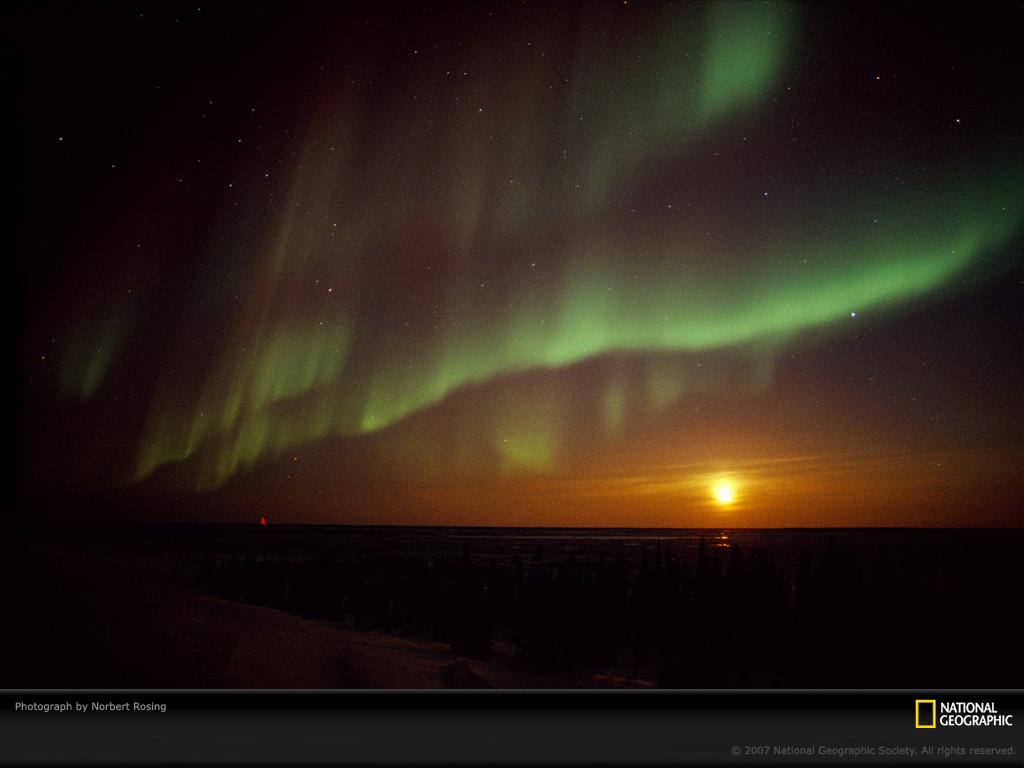 Aurora WallpaperAurora Borealis Wallpaper National Geographic 1024x768