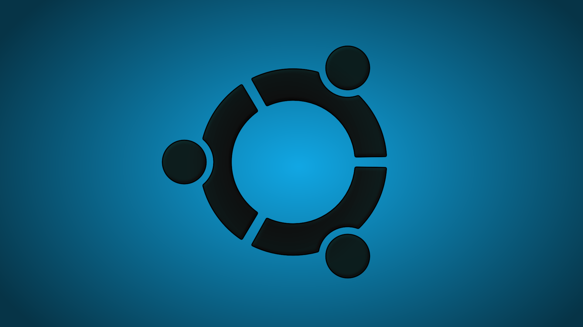 Ubuntu Wallpaper Blue 1920x1080