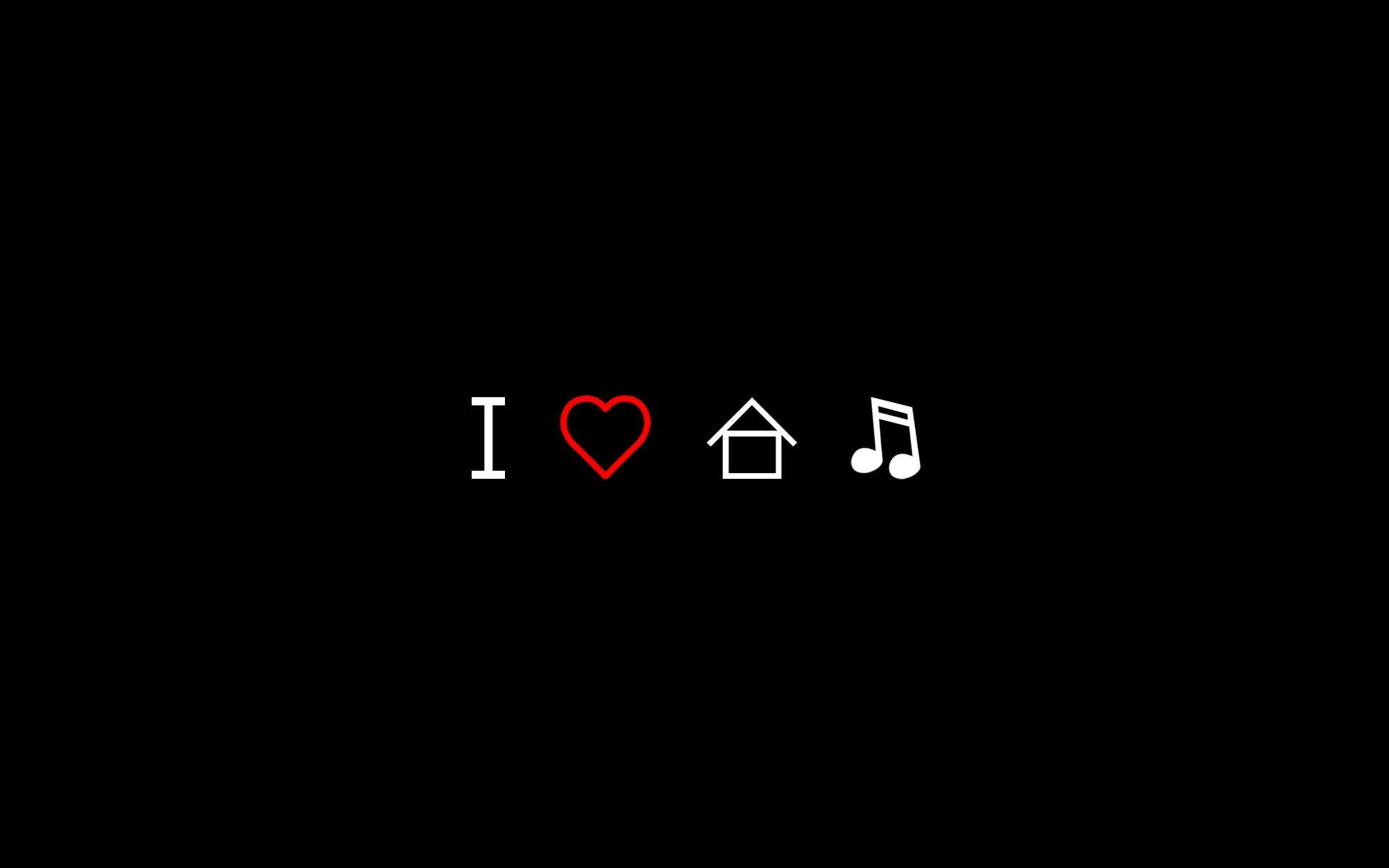 House Music Backgrounds 1920x1200