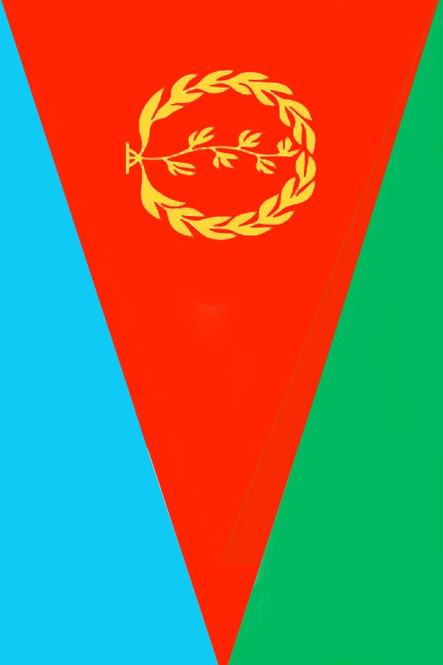 Eritrea Flag iPhone Wallpaper HD 640x960