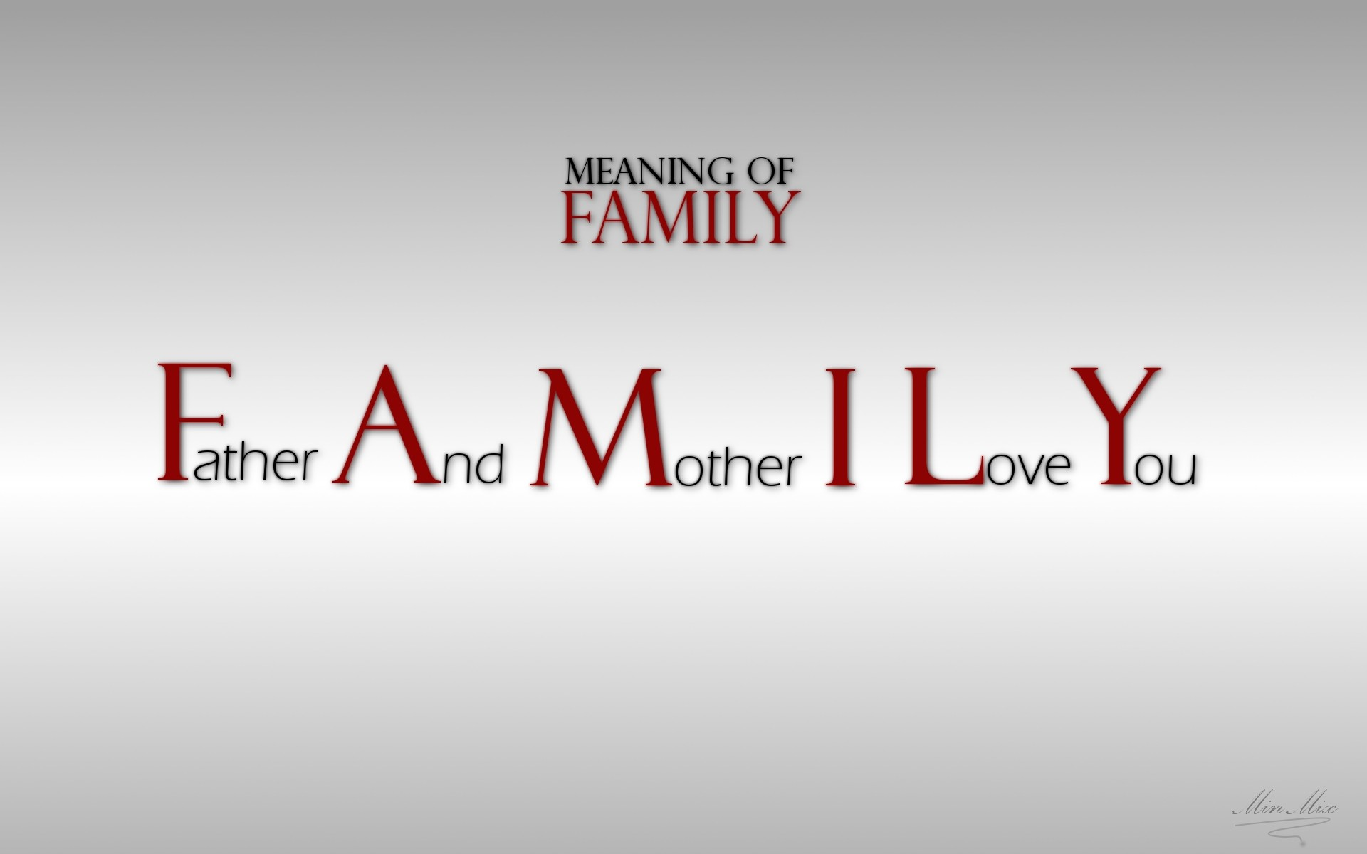 Text family quotes typography wallpaper 1920x1200 9037 1920x1200