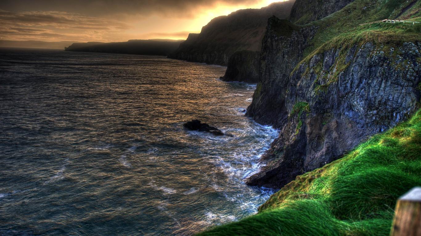 Ireland wallpaper 1366x768 53412 1366x768