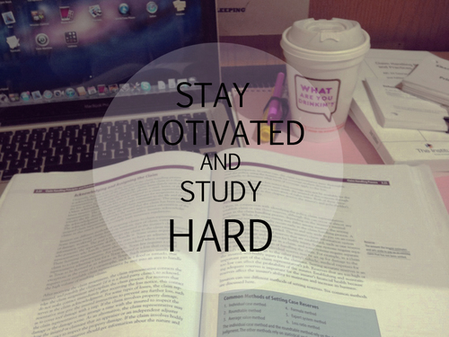 Group of Stay motivated and study hard   wallpaper We Heart It 500x375