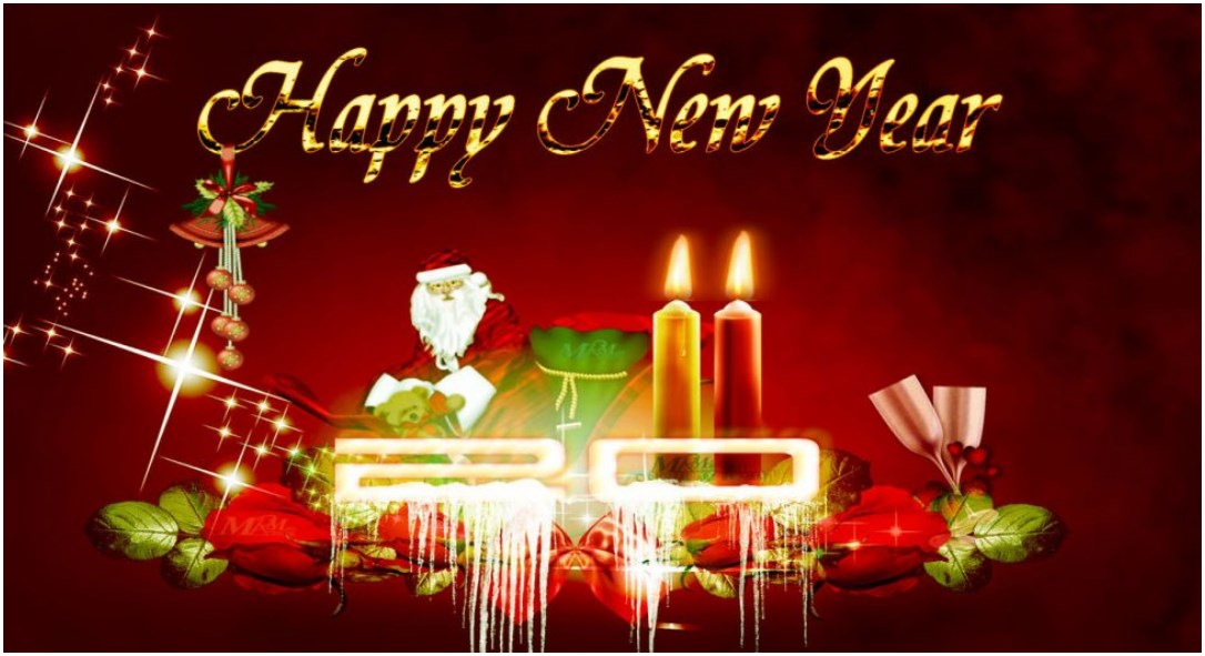 download Latest Happy New Year 2020 HD HQ wallpapers Images 1086x591