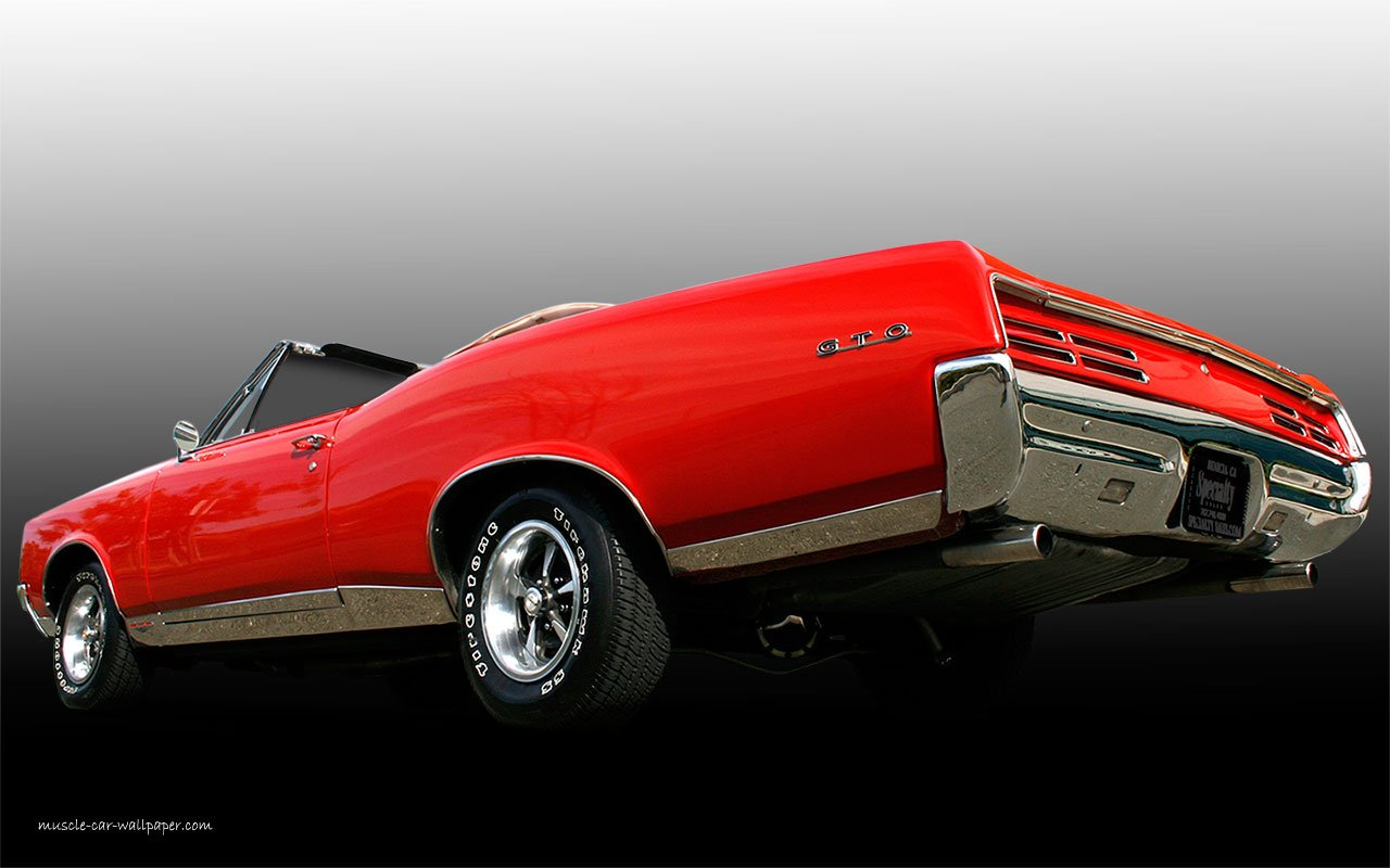 1967 Pontiac GTO Wallpaper Muscle Car Wallpaper 1280x800