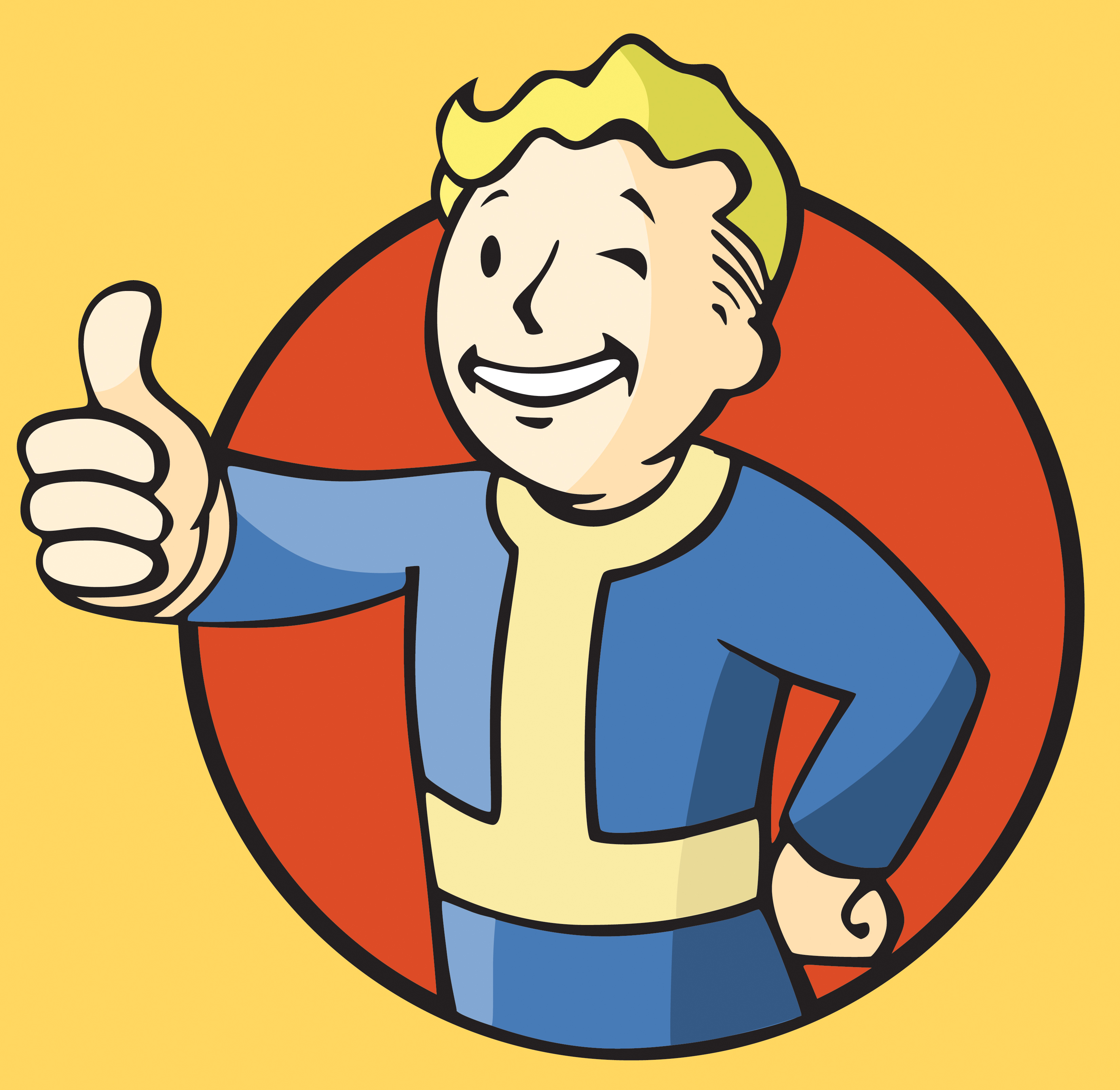 Free Download Vault Boy Vector By Bawarner 3300x3210 For Your