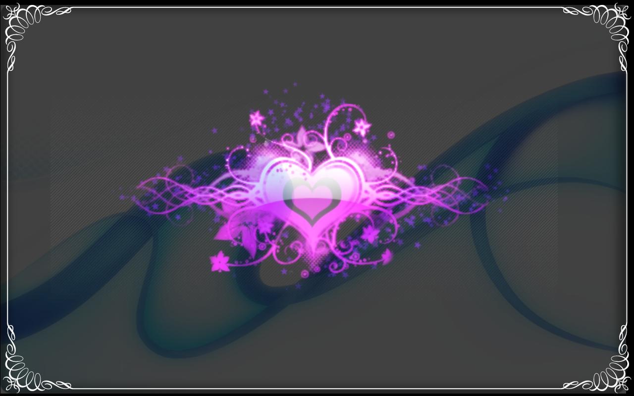 hearts wallpaper 1280x800 1366x768 - photo #39