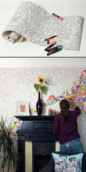 Wallpaper you can color Home Pinterest 300x600