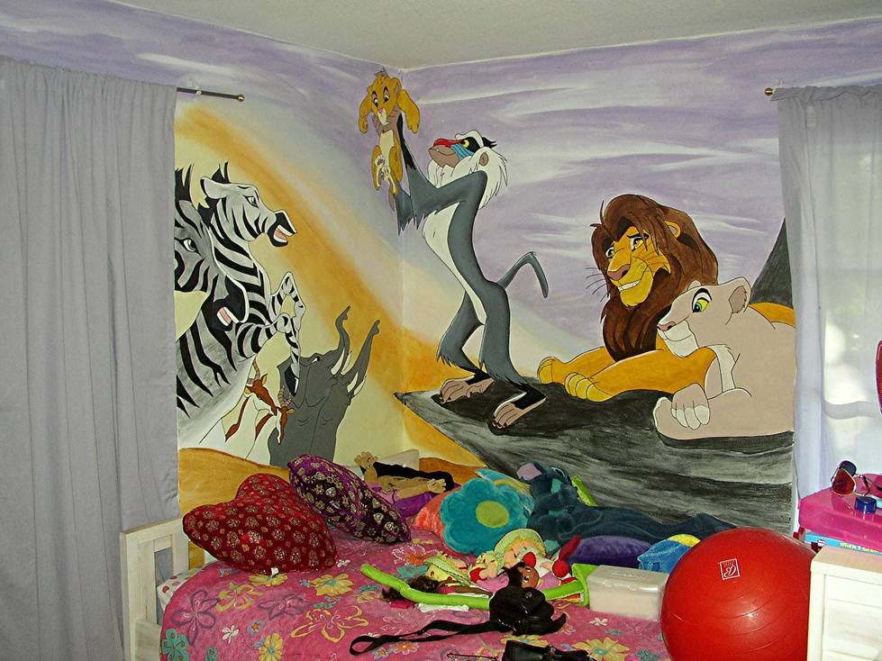 Lion King Room Wallpaper Wallpapersafari