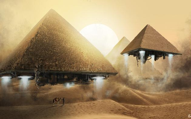 Joe Rogan on the Mysteries of The Egyptian Pyramids Spirit Science 630x394