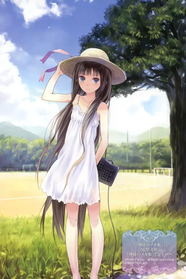 Anime Girl Mobile Wallpaper Wallpapersafari