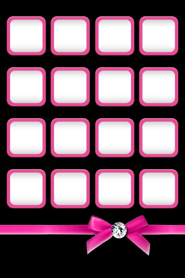 Pinkblack Iphone Wallpapers Iphone Backgrounds Cellphonezzz 640x960