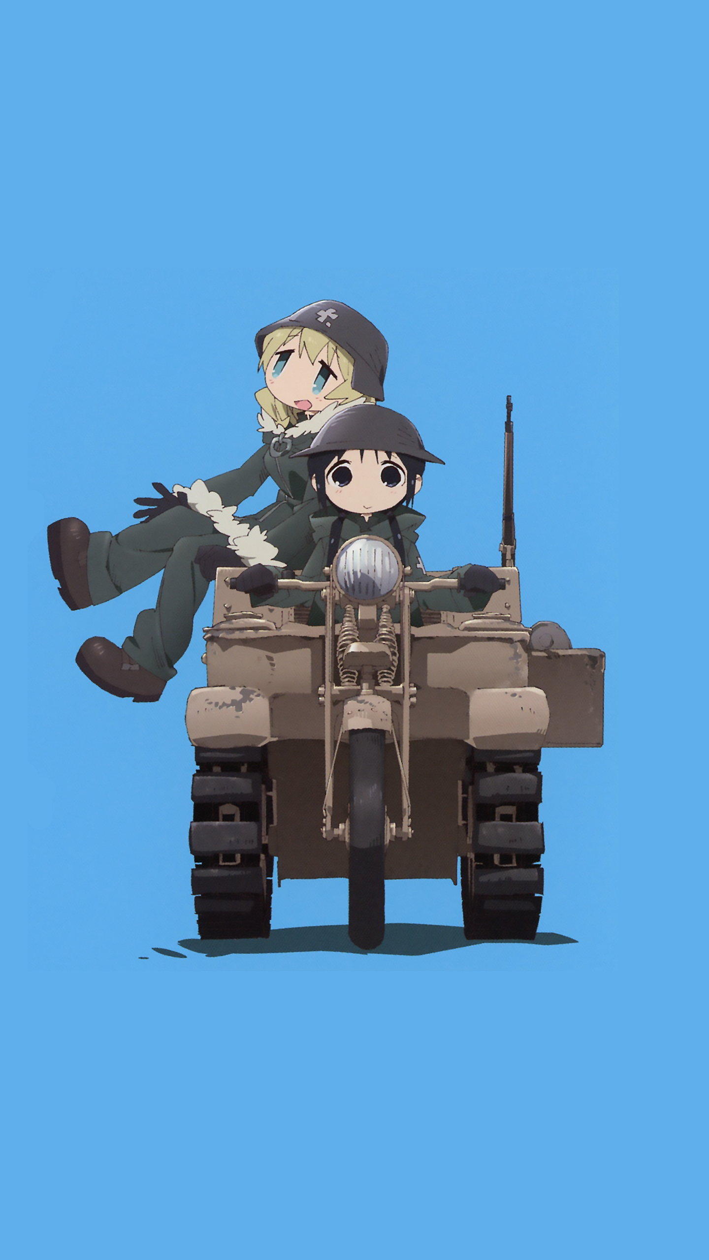 Phone wallpaper made from [Girls Last Tour] OP album [2560 x 1440 1440x2560