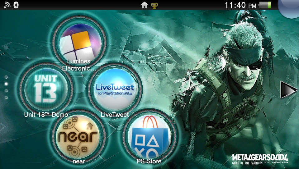 playstation vita wallpaperMy PlayStation Vita Wallpapers g5aTnKxd 960x544