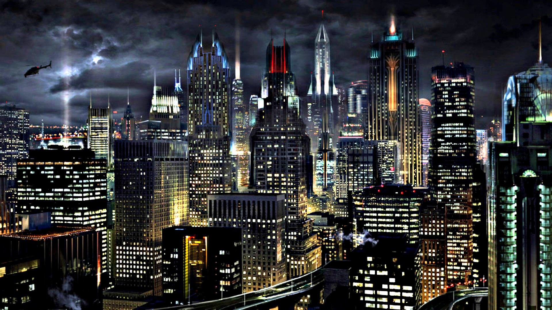 Gotham City Background 62 images 1920x1080