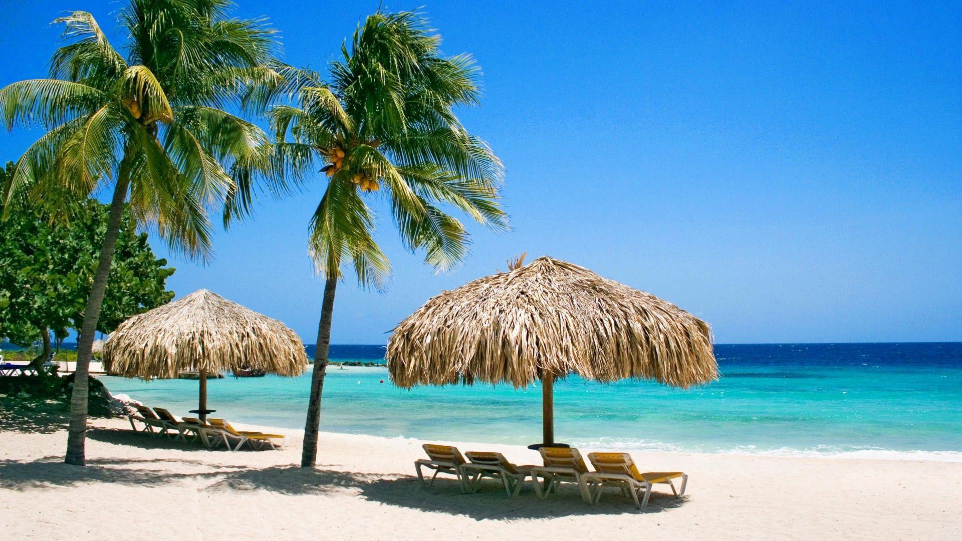 Free 65 Aruba Beachfront Scene Desktop Wallpapers