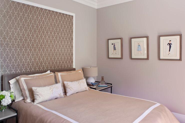 Moroccan Headboard   Contemporary   bedroom   Jeneration Interiors 740x493