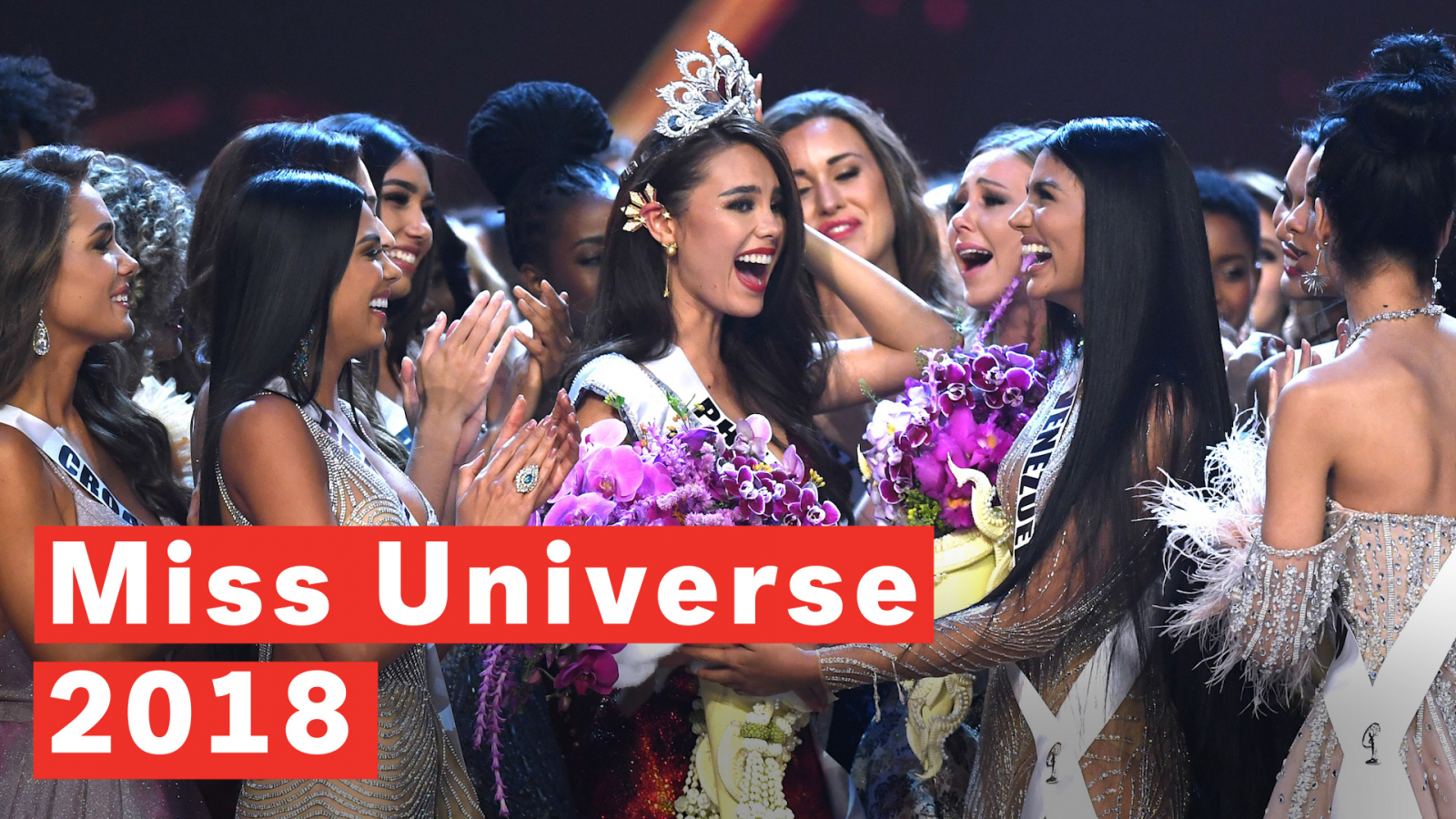 Miss Universe 2018 in Photos Catriona Gray of Philippines Crowned 1600x900