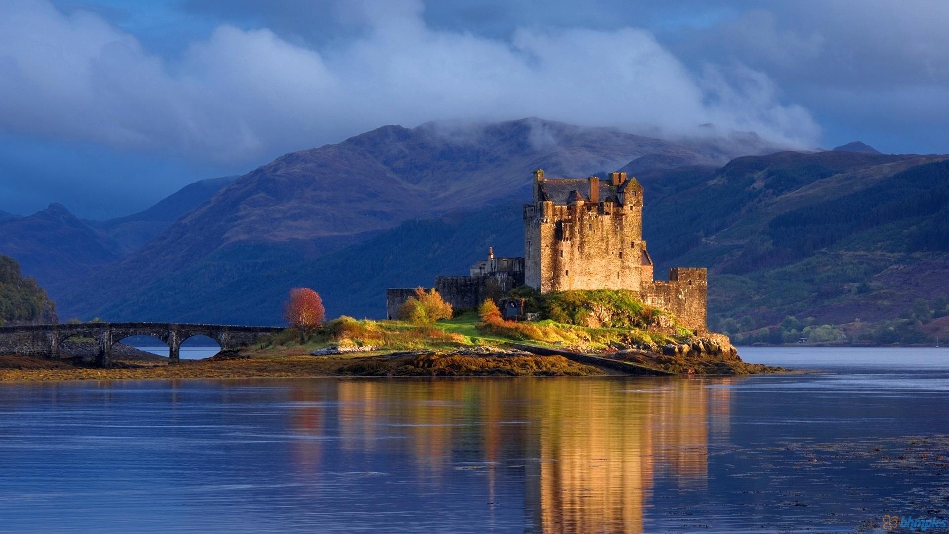 Шотландский каменный забор  № 2453370 загрузить