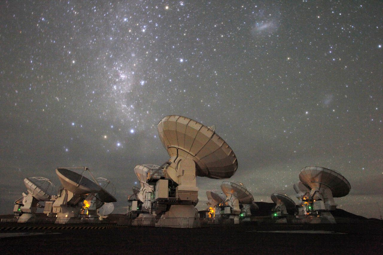 45 Radio Telescope Wallpaper On Wallpapersafari