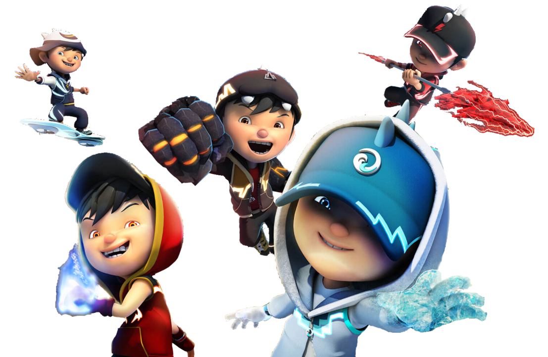 Boboiboy Galaxy Without background by VIANDRY 1107x721