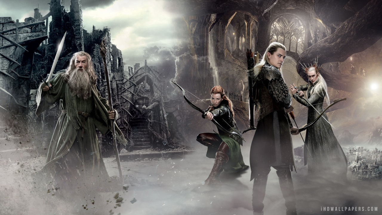 The Hobbit 2 Movie HD Wallpaper   iHD Wallpapers 1280x720