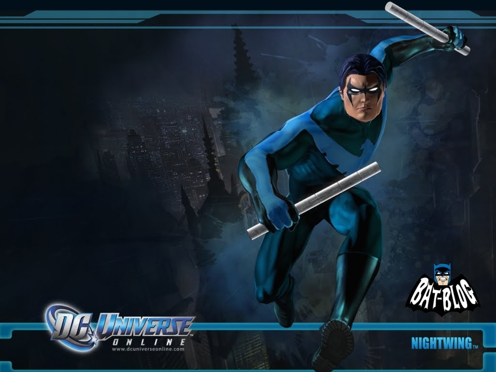 COLLECTIBLES New DC UNIVERSE ONLINE Video Game Wallpaper Backgrounds 1024x768