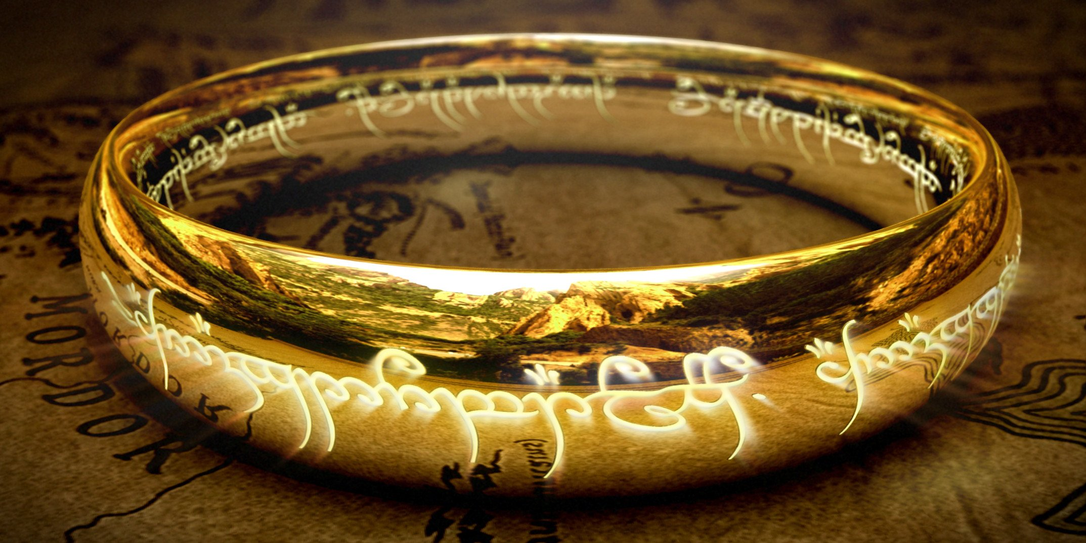 The One Ring Wallpaper  WallpaperSafari