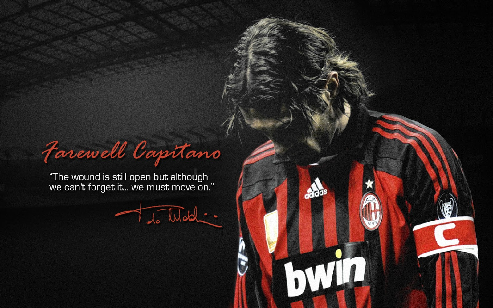 AC Milan Legend   Paolo Maldini Wallpaper   AC Milan Wallpapers 1600x1000